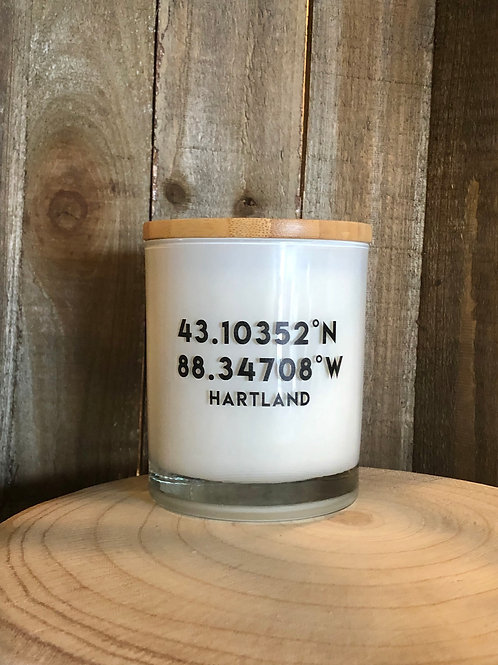 Hartland Coordinates Candle