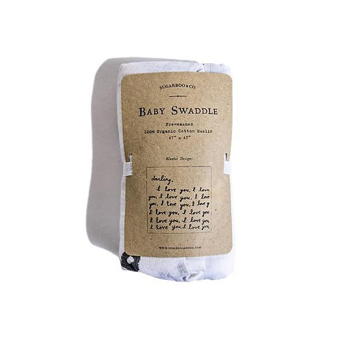 Letter to You Organic Swaddle