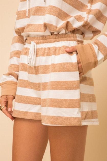 Candie Stripe Shorts