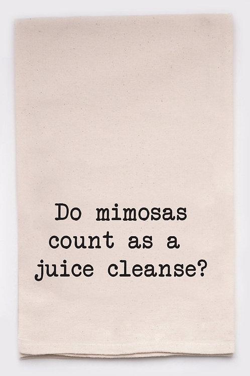 Juice Cleanse Tea Towel