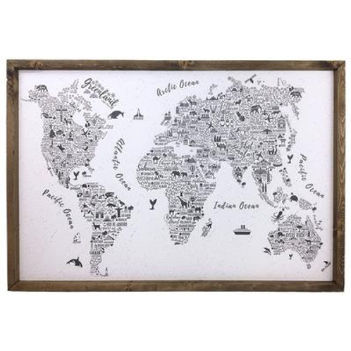 Typography World Cork Board
