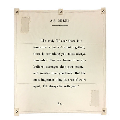 A.A. Milne Wall Tarp