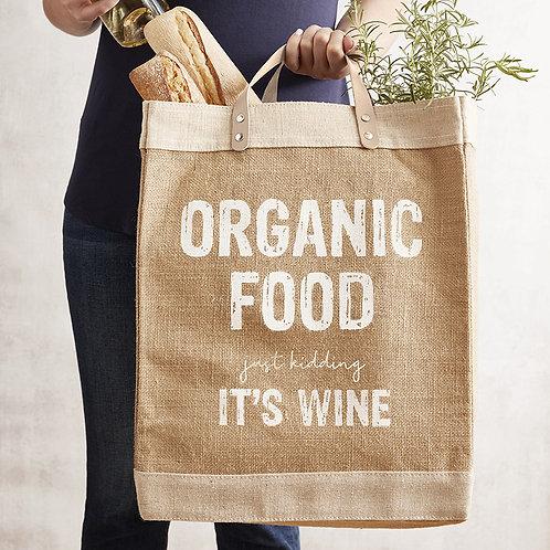 Organic Food Market Tote