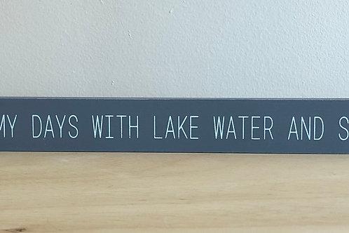 Lake Water Block