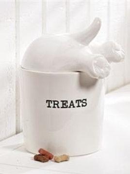 Dog Tail Treat Jar