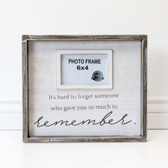 Hard to Forget Sympathy Frame