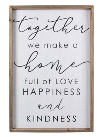 Together we make a Home Art