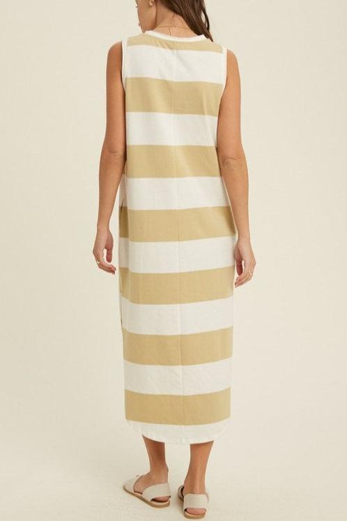 Emory Stripe Midi Dress