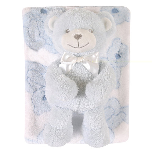 Bear Blanket Gift Set