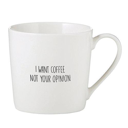 Want Coffee Cafe Mug