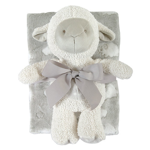 Lamb and Blanket Gift Set