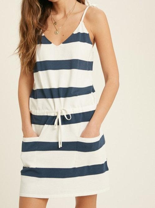 Becky Stripe Sweater Dress