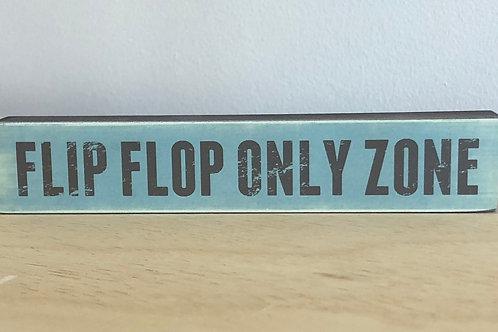 Flip Flop Zone Mini Block