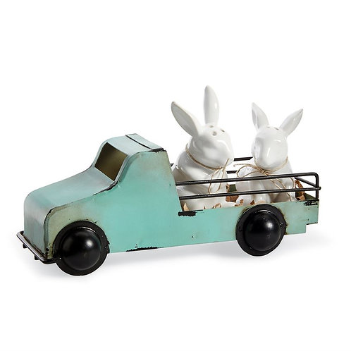 Bunny Truck Salt and Pepper