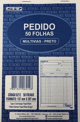Pedido 50 Folhas 137x207mm São Domingos