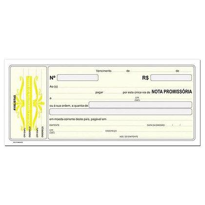 Nota Promissoria 215x95mm São Domingos