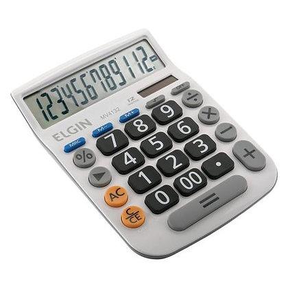 Calculadora 12 Digitos Branco MV-4132