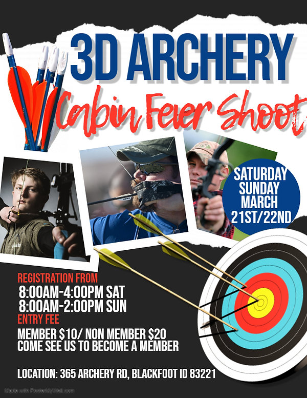 Copy of 3D Archery Shoot Flyer - Made wi