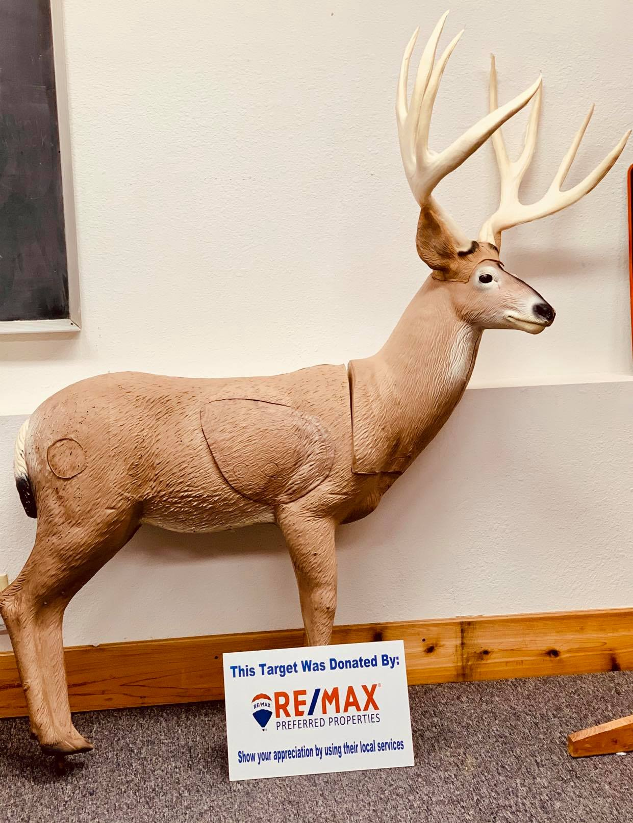 Donated by RE/MAX Preferred Properties