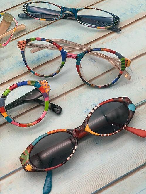 Custom designed glasses