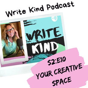 Creating Your Writing Space and Mistakes to Avoid S2 E10
