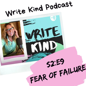 Writers & Illustrators: Do You Have the Fear of Failure?
