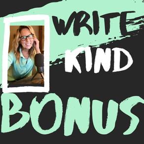 BONUS Episodes: Updates about My Current Journey with My Newest Children's Book Manuscripts