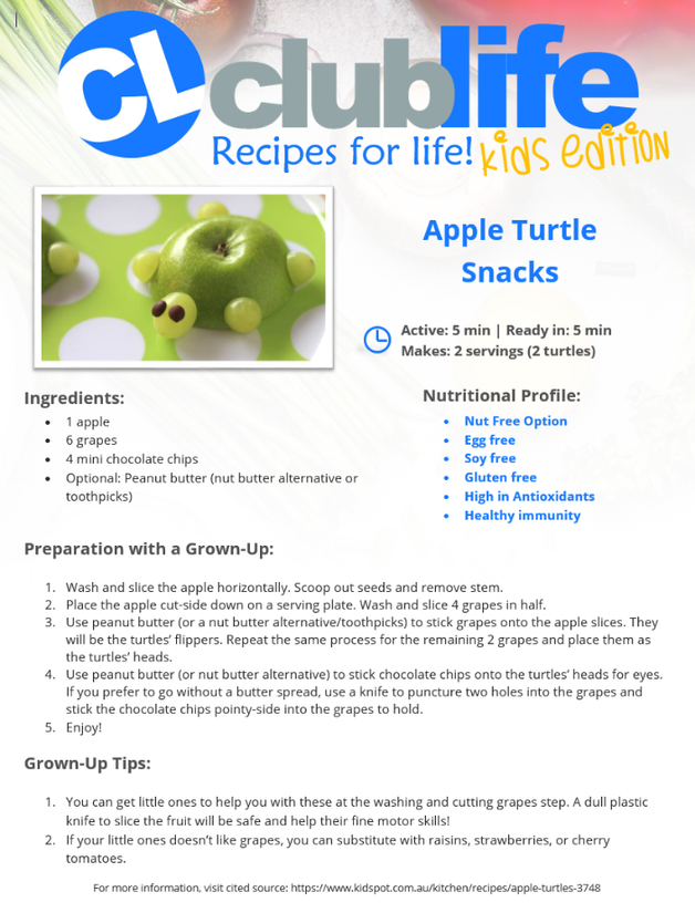 Try this Kid-Friendly ClubLife Health & Fitness Recipe!
