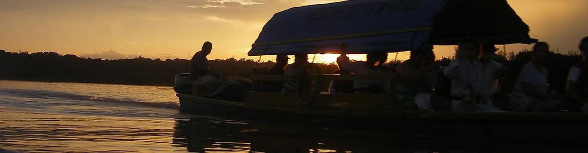 Travel through the Amazon