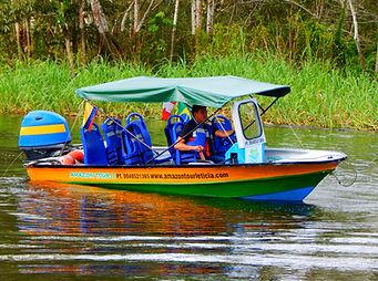 Botes de Amazon tour