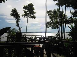 Vista del río Amazonas