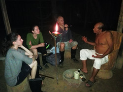 Visit to the shaman