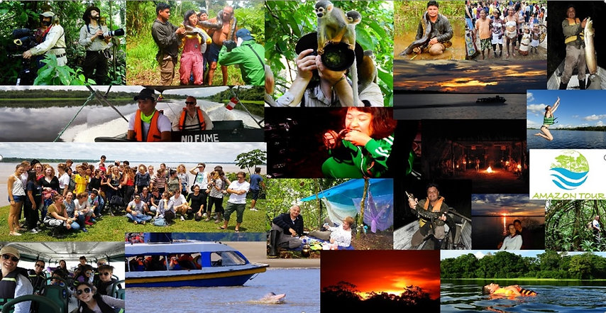 Amazon tour, our services
