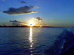 El gran río Amazonas