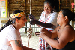 Visit to the indigenous Ticuna commu