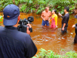 TV production in the jungle