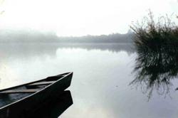 Amanecer - lago Santa cruz