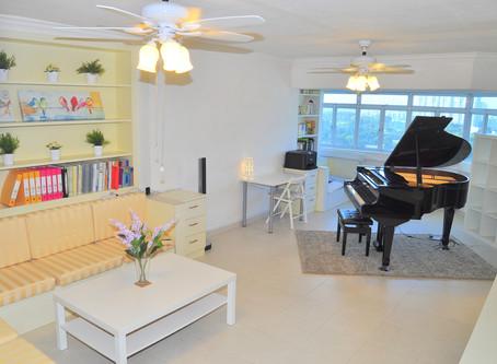 シンガポール・ピアノ教室、新規開講!