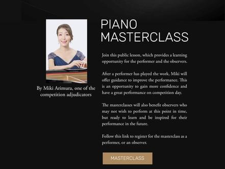 Miki Arimura Piano Master Class
