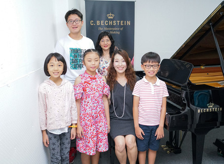 Piano Master Class for Singapore Asia Youth Competition