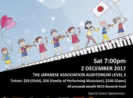"""""""Fight Cancer Charity Concert"""" in Singapore"""