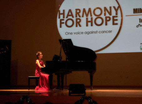 """""""Harmony for Hope"""" Charity concert in Singapore"""