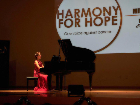 """Harmony for Hope"" Charity concert in Singapore"