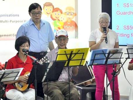 シンガポール独立記念日、ウクレレコンサート / Ukulele Concert for National Day Event