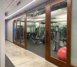 Excercise Room - Outside facing into gym
