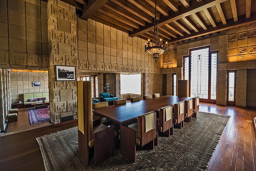 Ennis House Restoration Frank Lloyd Wright