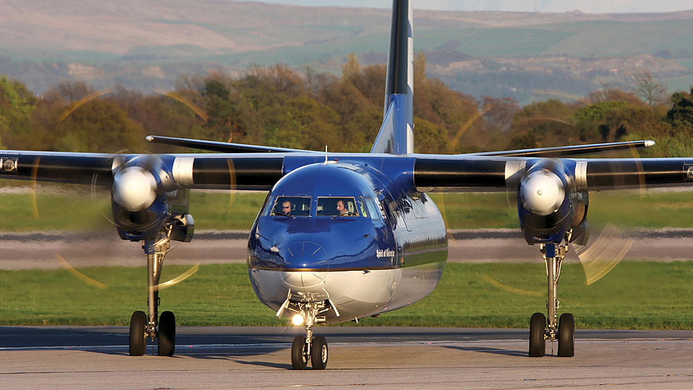Resultado de imagem para Fokker 50