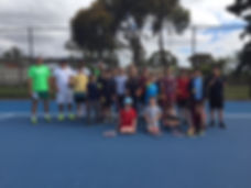 School Holiday Tennis Clinics
