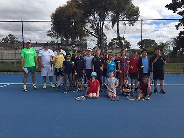 School Holiday Tennis Clinics