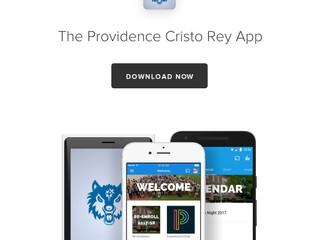 Download the Providence Cristo Rey School App
